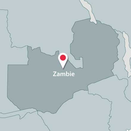 Map of Zambie